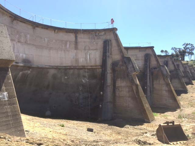 backside sdr dam