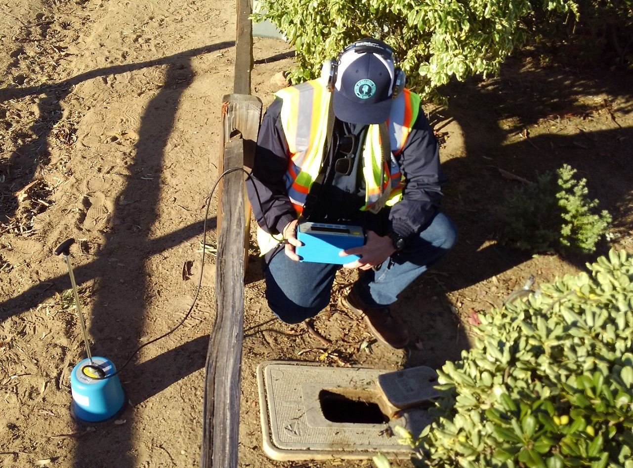 leak detection photo