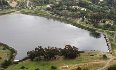 Aerial Photo of San Dieguito Reservoir